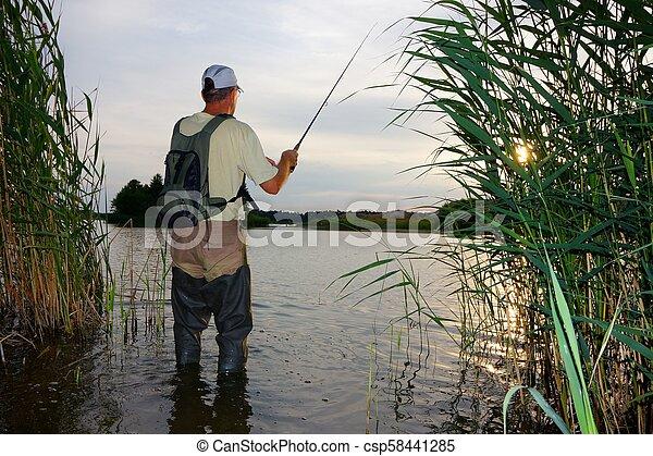 Pescador - csp58441285