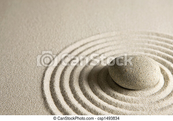 Piedra Zen - csp1493834
