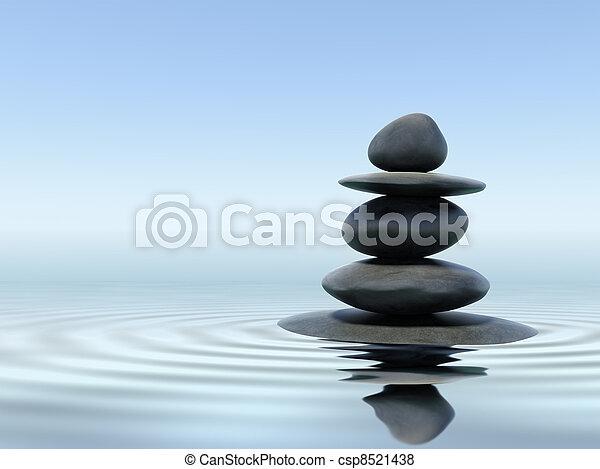 Piedras Zen - csp8521438