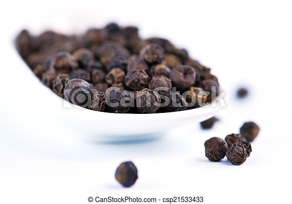 Pimienta negra - csp21533433