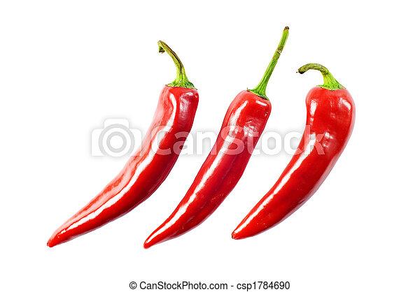 Pimienta picante - csp1784690