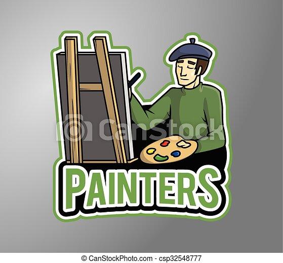 Pintor - csp32548777