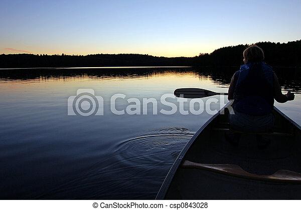 Canoeing - csp0843028