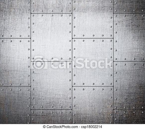 Matrícula de metal - csp18002214
