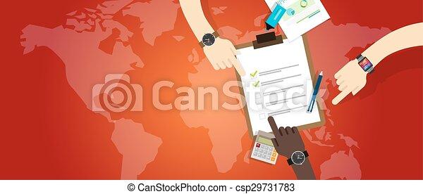 Equipo de plan de emergencia, equipo de trabajo de preparación de cooperación - csp29731783
