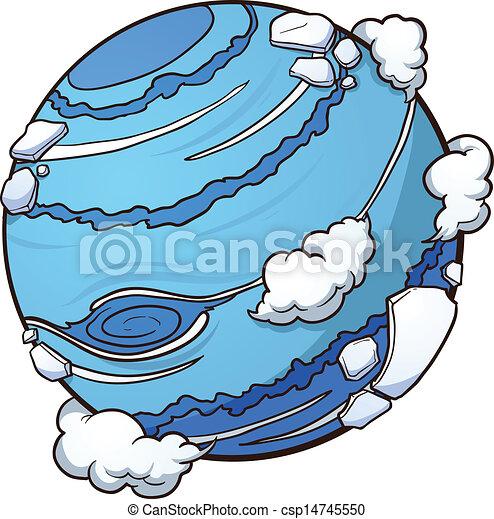 Planeta Neptuno - csp14745550