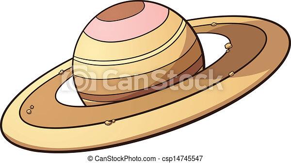 Planeta Saturn - csp14745547