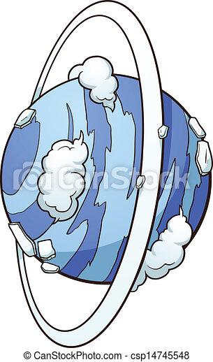 El planeta Uranus - csp14745548