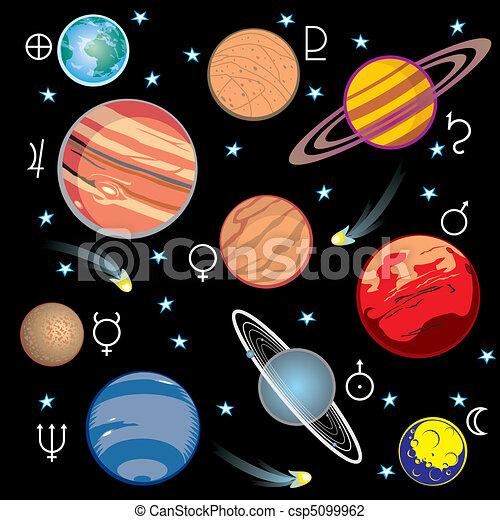 Planetas del sistema solar - csp5099962