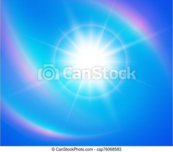 plano de fondo, natural, soleado - csp76068583