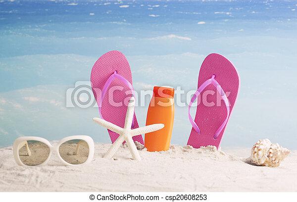 Antecedentes de verano - csp20608253