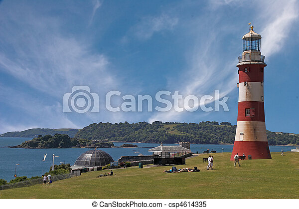 Plymouth hoe - csp4614335