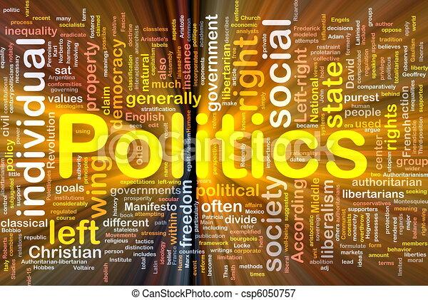 La política de fondo social brilla - csp6050757