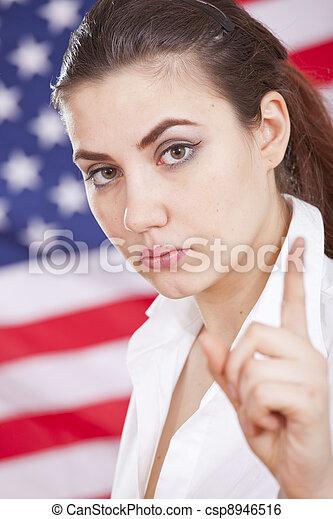 Política americana - csp8946516