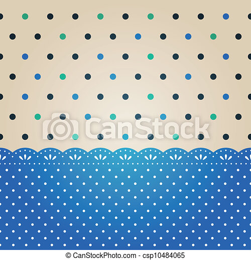 Polka dot pasado texturizado - csp10484065