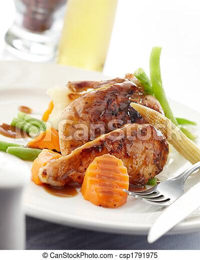 Pollo albaricoque - csp1791975