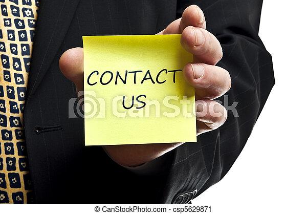 Contacta con nosotros - csp5629871