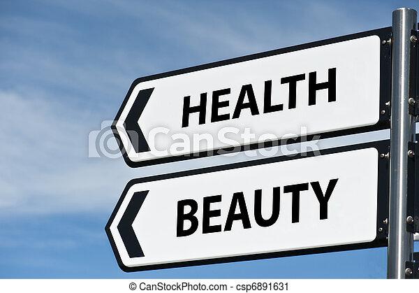 Correo de señales de salud y belleza - csp6891631