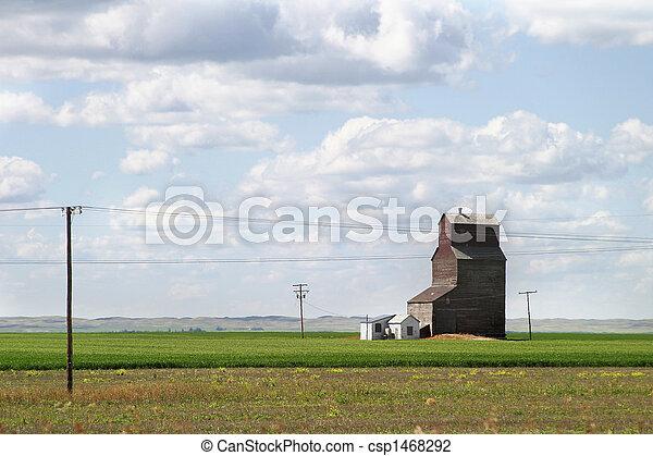 Un paisaje de praderas - csp1468292