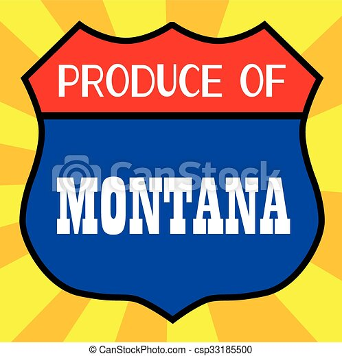 Producción de Montana - csp33185500