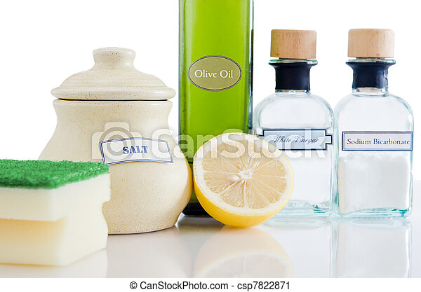 Productos de limpieza no tóxicos naturales - csp7822871