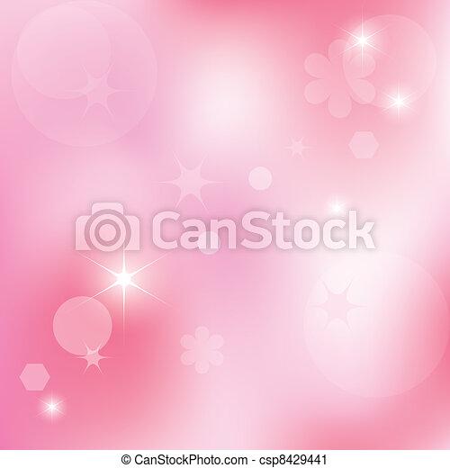 Profesional rosa abstracto del vector - csp8429441