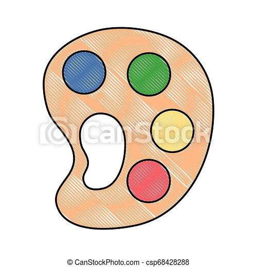Provisión artística de color paleta - csp68428288