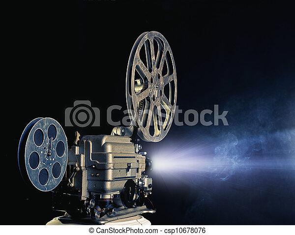 Proyector de cine - csp10678076