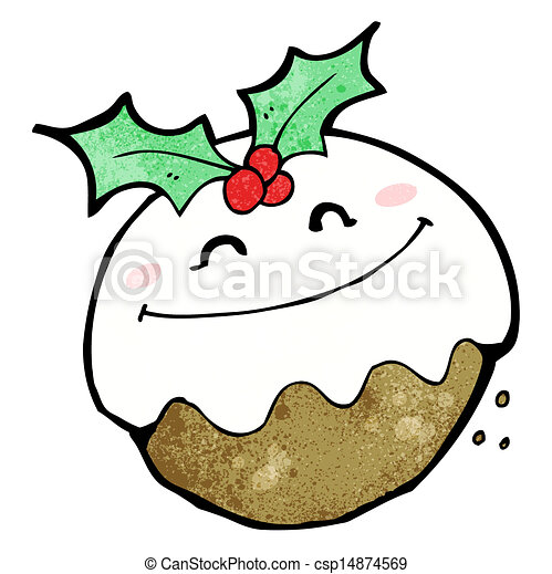pudín de Navidad - csp14874569