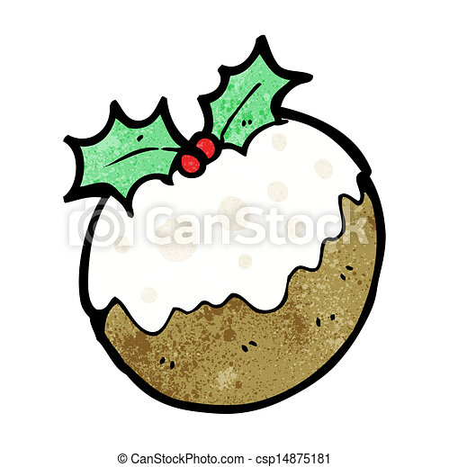 pudín de Navidad - csp14875181