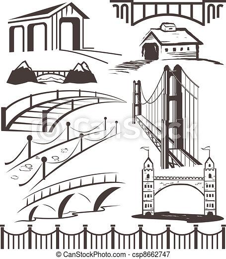 Colección de puentes - csp8662747