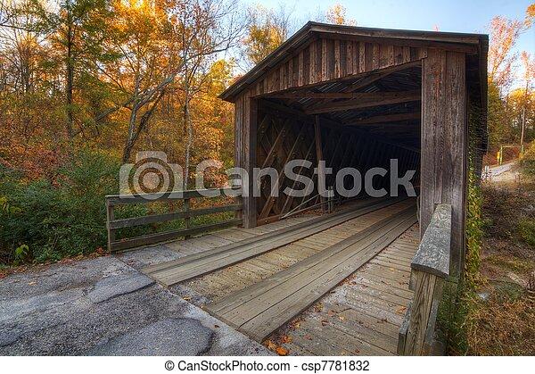 Puente cubierto - csp7781832