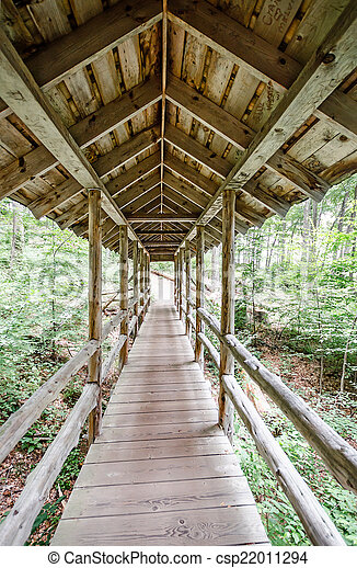 Puente cubierto - csp22011294