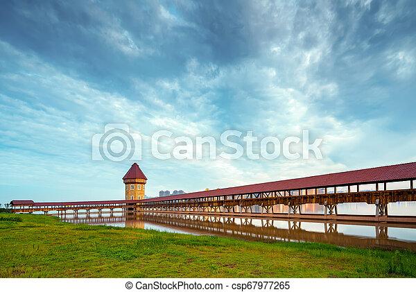 Puente cubierto - csp67977265