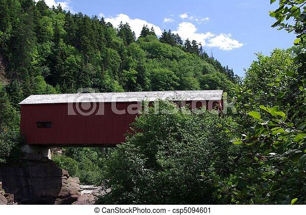 Puente cubierto - csp5094601