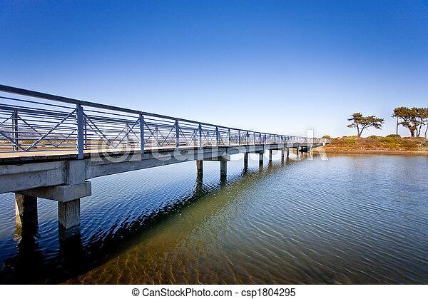 Puente de isla - csp1804295