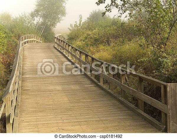 Puente de madera - csp0181492
