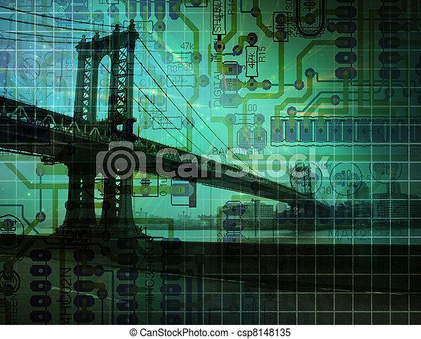 Puente electrónico - csp8148135