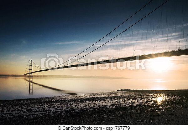 Puente Humber - csp1767779