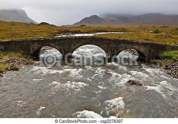 Puente en Sligachan - csp2276397