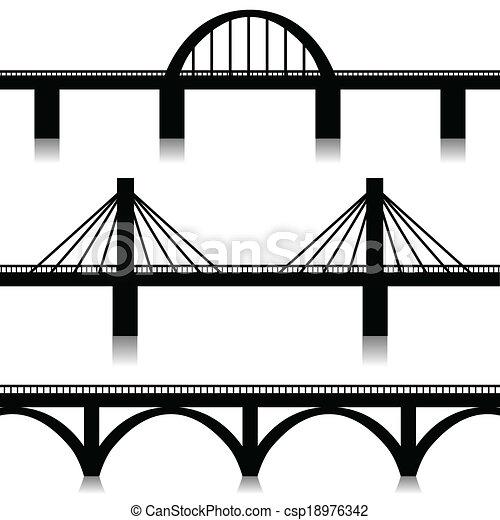 Puentes listos - csp18976342