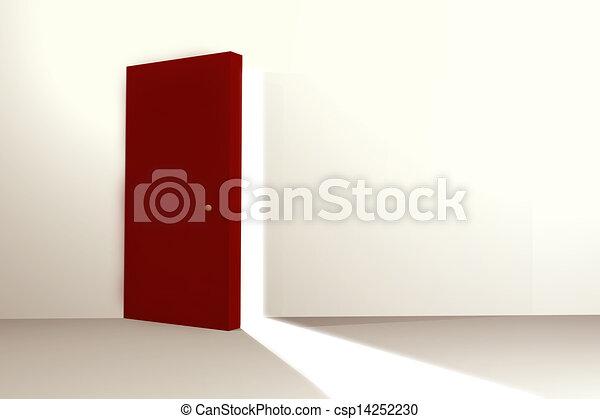 Abre la puerta - csp14252230