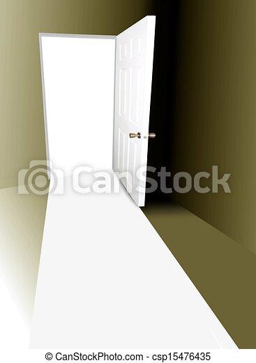 Abre la puerta - csp15476435