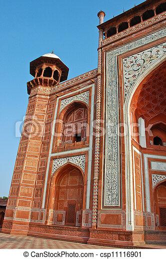 La puerta a Taj Mahal - csp11116901