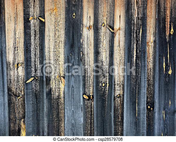 Antecedentes, textura de las viejas puertas de madera - csp28579708