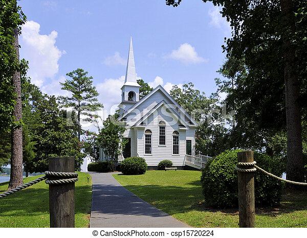 La iglesia Harbor - csp15720224