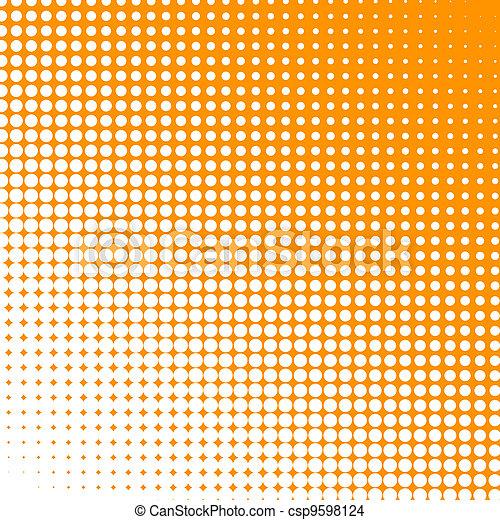 Puntos blancos cambiando de forma - csp9598124