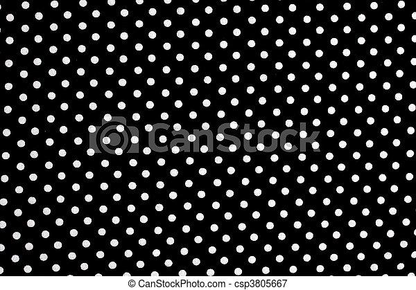Puntos negros y blancos - csp3805667