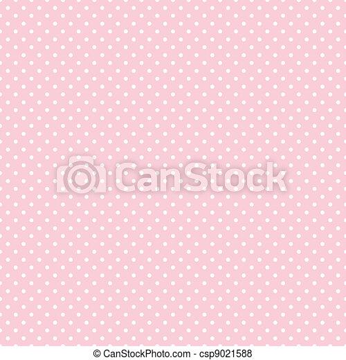 Puntos lunares sin costura en color rosa pastel - csp9021588
