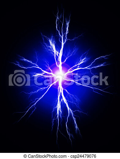 Pura energía y electricidad - csp24479076
